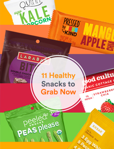 11 Healthy Snacks to Grab Now