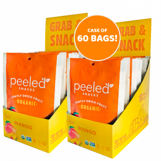case of 60 single serve mango bags