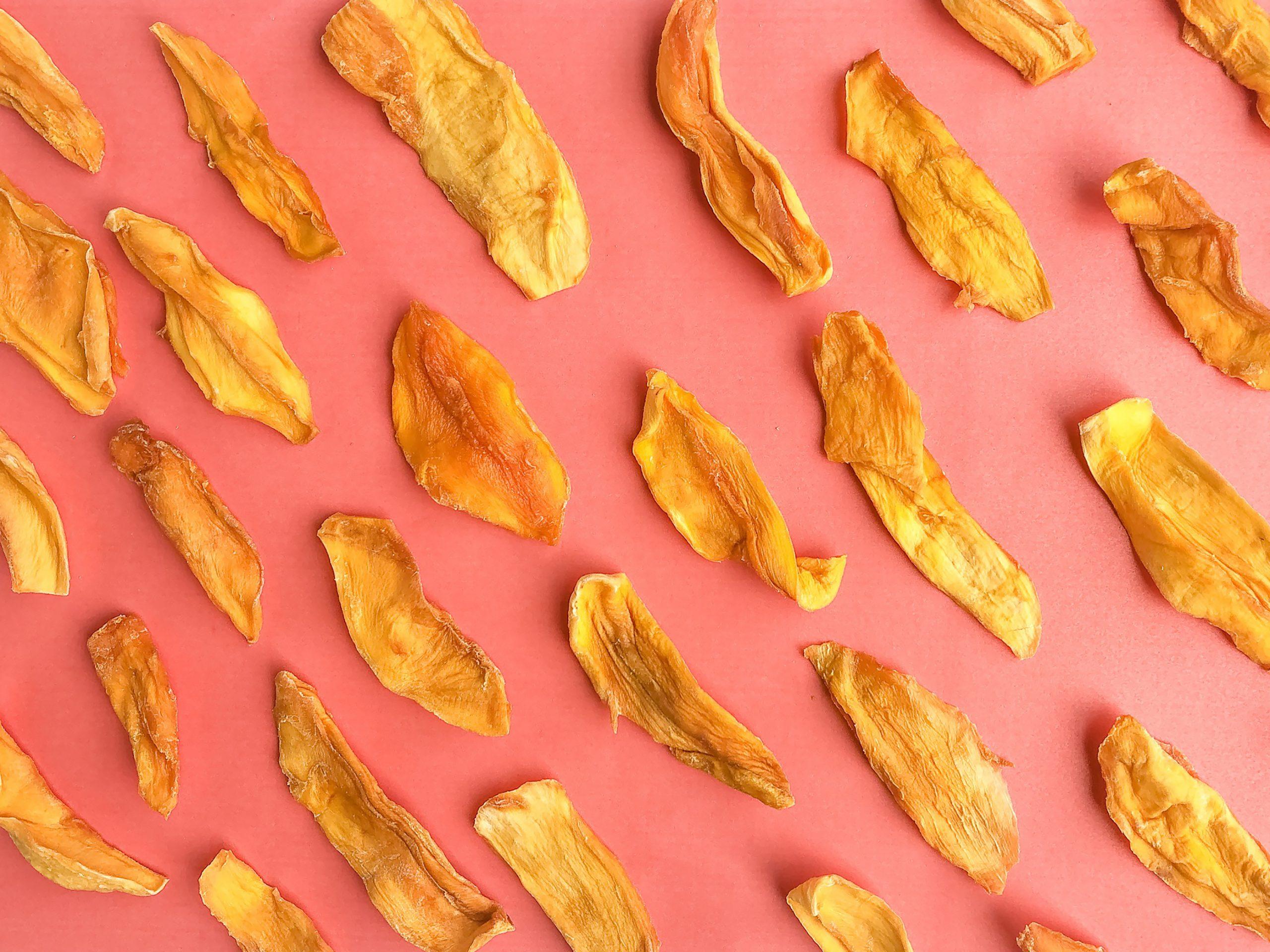 pieces of mango