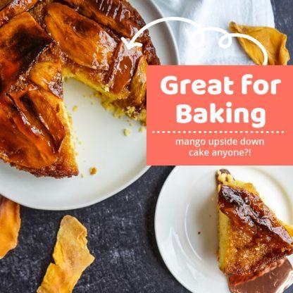 recipe idea! use our mango for baking